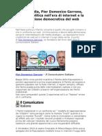 Pier Domenico Garrone, l'Italia politica nell'era di internet
