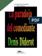 Paradoja Del Comediante, La