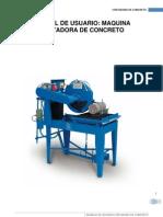 Manual de Maquina Cortadora de Concreto