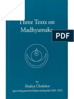 95049516 Sakya Chokden s Three Text on Madhyamaka