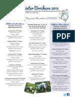 MMCC Winter Brochure 2012-2013