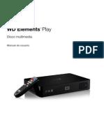 Manual de usuario WD Elements™ Play (DISCO MULTIMEDIA)