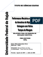Performance of Mechanics and Magnetic Samples of tailings of Machining with Several times of Grinding