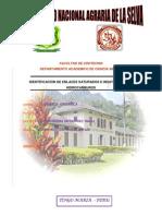 IDENTIFICACION DE ENLACES SATURADOS E INSATURADOS EN HIDROCARBUROS