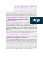 NLP Case Studies