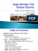 State of the Middle School Presentation