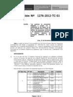 Resolución del tribunal Gobierno Regional de Cajamarca