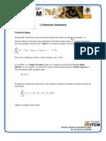 1.2 Notacion Sumatoria