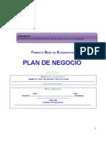 Plan Negocio Manjar Blanco