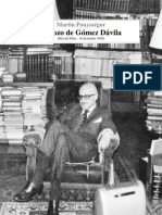 Esbozo de Gomez Davila Martin Pouyssegur