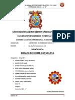 Monografia- Ensayo de Corte Con Veleta.