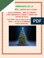 Feliz Navidad de Parte de Los Hermanos de La Esperanza. Martes 04.12.2012.