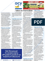 Pharmacy Daily for Thu 13 Dec 2012 - NPS on rivaroxaban, Cancer in Oz, PBS price correction, ASMI President and much more...