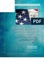 The State of Lending in America and its Impact on U.S. Households