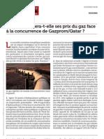 Www.lematindz.net l Algerie Revisera t Elle Ses Prix Du Gaz Face a La Concurrence de Gazprom Qatar