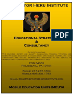 Fhi Educational Consultancy Packet 2012