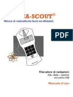 Manuale Gamma-Scout 2009 - Sommario e indice