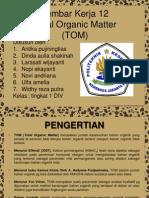 total organik material