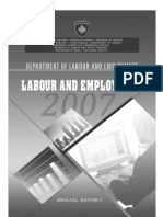 Labour and Employment in Kosovo 2007