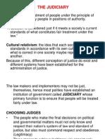 Pol 10 (the Judiciary)