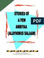 Stories of a Few Ambiyaa (Alayhimus Salaam)