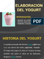 Diapositivas Del Yogurt