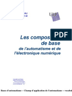 Les Composants de Base de l'Electronique Numérique Et de l'Automatisme