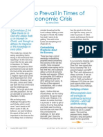 How to Prevail In Times of Economic Crisis