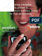 Delivering interactive mobile services to