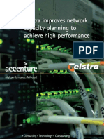 Telstra improves network capacity planning to achieve high performance