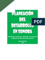 Cómo fue la Planeación del Desarrollo en Sonora hasta antes del 2000