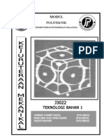 JF302 Material Technology 1 Unit 0