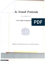 The Somali Peninsula