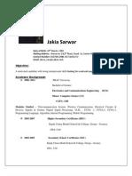 CV_ Jakia Sarwar