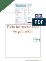 Werkinstructie Pleio gebruikers 0.99