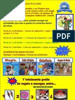 DIVERFIESTA MAGO PAYASO FIESTA DE CUMPLEAÑOS
