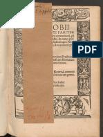 Arnobii Afri - Commentarii in Omnes Psalmos Sermone Latino
