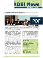 ADBI Newsletter Volume 6 Number 3