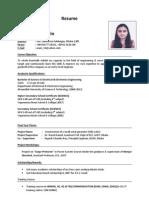 CV - Shamama Shahrin