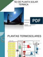 Descripción de los componentes de la planta Termosolar(1)