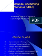 International accounting standard 8