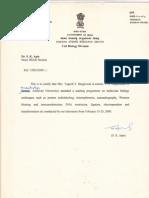Barc Certificate