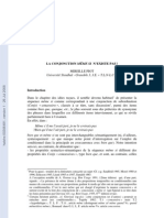 LA CONJONCTION MÊME SI N'EXISTE PAS ! MIREILLE PIOT Université Stendhal