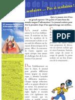 Les journaux scolaires, pas si scolaires ! (2)