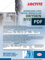 Oxygen compatibilty
