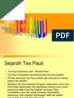Materi Kuliah Tes Pauli