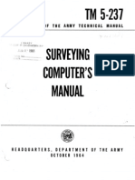 27815722 Department of the Army Technical Manual Tm 5 237 Surveying Computer s Manual October 1964 (1)