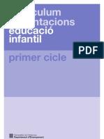 Curriculum Infantil 0-3