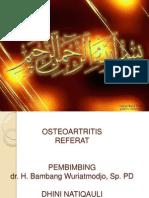 referat osteoartritis