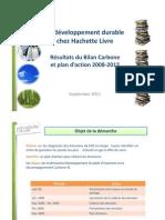 Hachette Bilan Carbone France